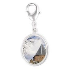 Charlemange chaple from 1400meg Silver Oval Charm