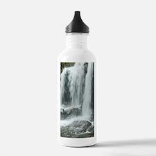 Waterfall between the  Water Bottle