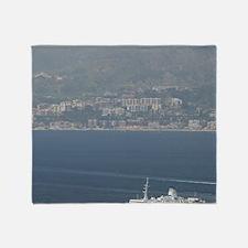 VILLA SAN GIOVANNI: Sicilian Ferry o Throw Blanket