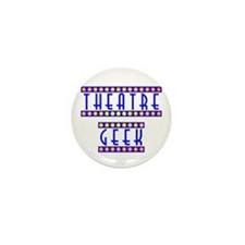 Theatre Geek Mini Button
