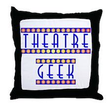 Theatre Geek Throw Pillow