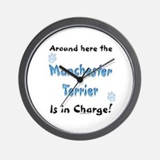 Manchester Charge Wall Clock