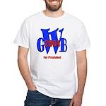 George Bush for President White T-Shirt