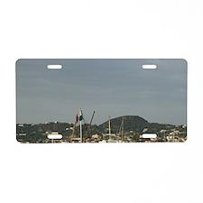 FORIO: Fishing Port / Late  Aluminum License Plate