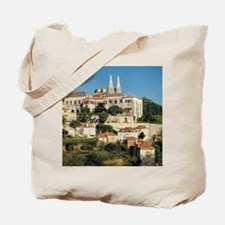 The National Palace sits atop a hill in S Tote Bag