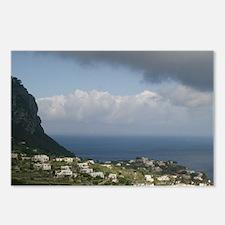 CAPRI: Capri Town from Gi Postcards (Package of 8)