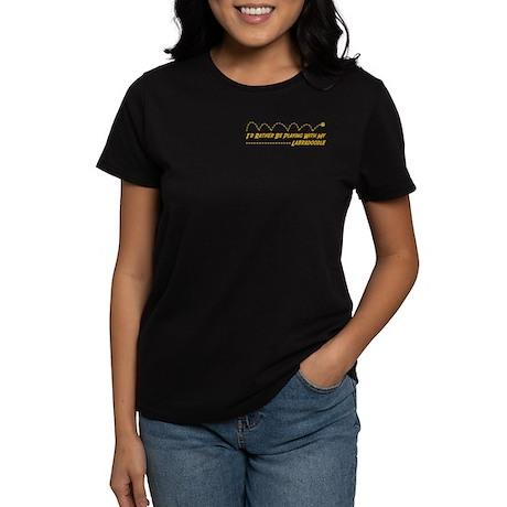 Labradoodle Play Women's Dark T-Shirt