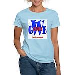George Bush for President Women's Pink T-Shirt