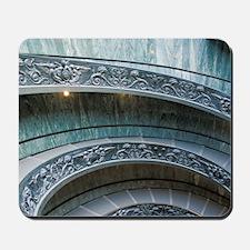 Main entrance staircasety. Musei Vatican Mousepad