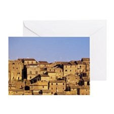 Grotte di Castro. Late Afternoon lig Greeting Card