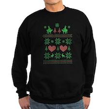 Ugly Christmas Sweater Humping Reindeer Sweatshirt