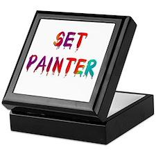 Set Painter Keepsake Box