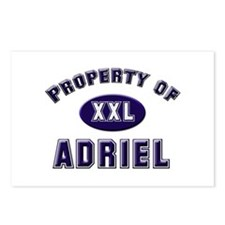 Property of adriel Postcards (Package of 8)