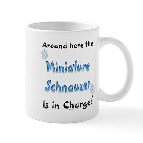 Schnauzer Charge Mug