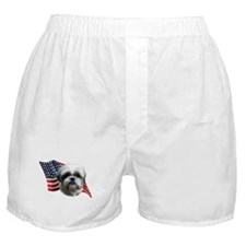 Shih Tzu Flag Boxer Shorts