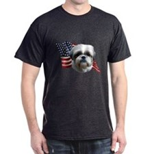 Shih Tzu Flag T-Shirt