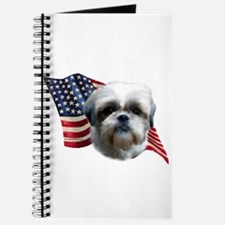 Shih Tzu Flag Journal