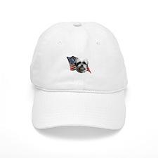 Shih Tzu Flag Baseball Cap