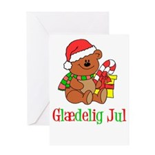 Glaedelig Jul Danish Greeting Card
