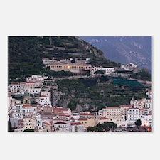 Campania (Amalfi Coast) A Postcards (Package of 8)