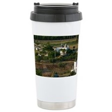 Farm View with Trulli House Ter Travel Mug