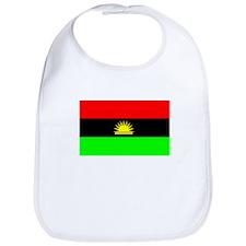 Biafran flag Bib