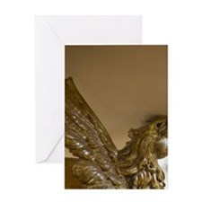 Chiesa di San Carlo Borromeo e Colle Greeting Card