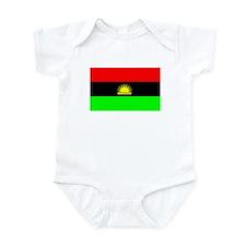 Biafran flag Infant Bodysuit