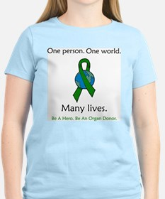 One Person. Many Lives. T-Shirt