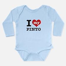 i love my Pinto Long Sleeve Infant Bodysuit