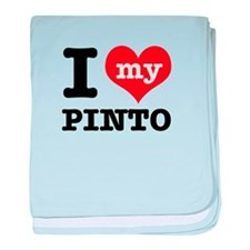 i love my Pinto baby blanket