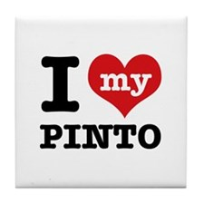 i love my Pinto Tile Coaster