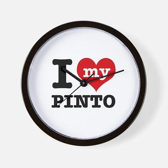 i love my Pinto Wall Clock