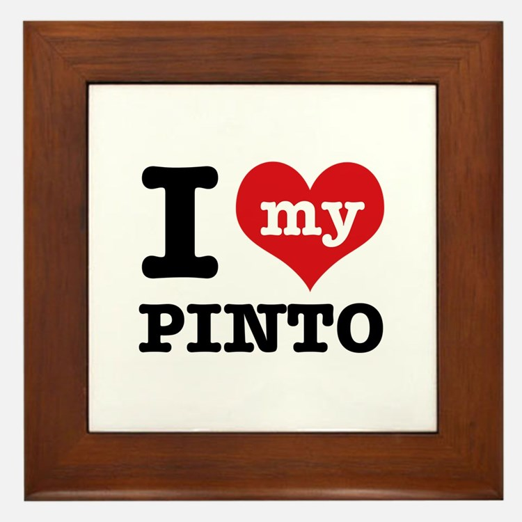 i love my Pinto Framed Tile