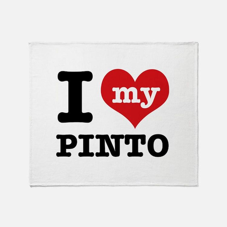 i love my Pinto Throw Blanket