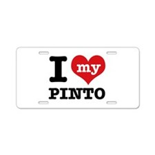 i love my Pinto Aluminum License Plate
