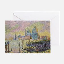 Venice by Signac Greeting Card