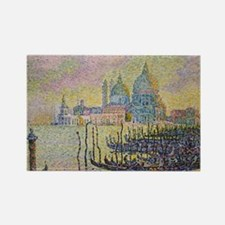 Venice by Signac Rectangle Magnet