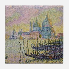 Venice by Signac Tile Coaster