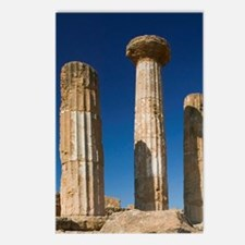 Ruins of the Temple of He Postcards (Package of 8)