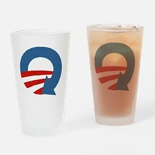 Obama_recycle Drinking Glass