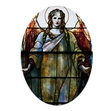 AngelofCharity Ornament (Oval)