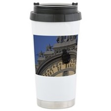 Catalonia. Port of Barcelona ad Travel Mug