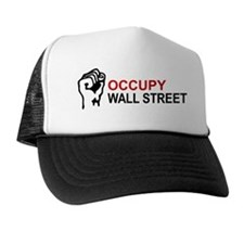 occupy ws with fist Trucker Hat