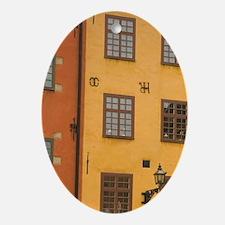 Sweden. Stockholm. Gamla Stan. Outdo Oval Ornament