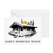 Early Morning Wood Greeting Cards (Pk of 10)