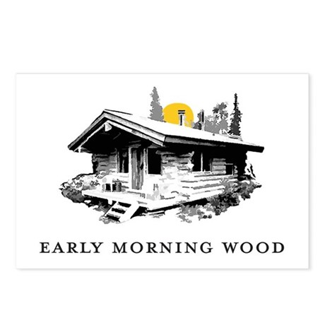 Early Morning Wood Postcards (Package of 8)