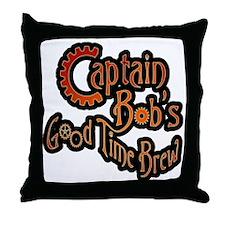 Captain in Red GTB Throw Pillow