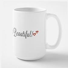 Good morning, Beautiful Large Mug