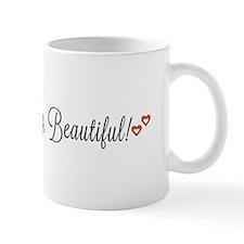 Good morning, Beautiful Small Mug